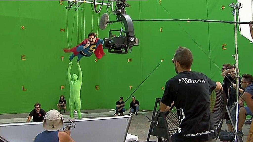 ¡'Superlópez' ya vuela! Dani Rovira graba por los aires