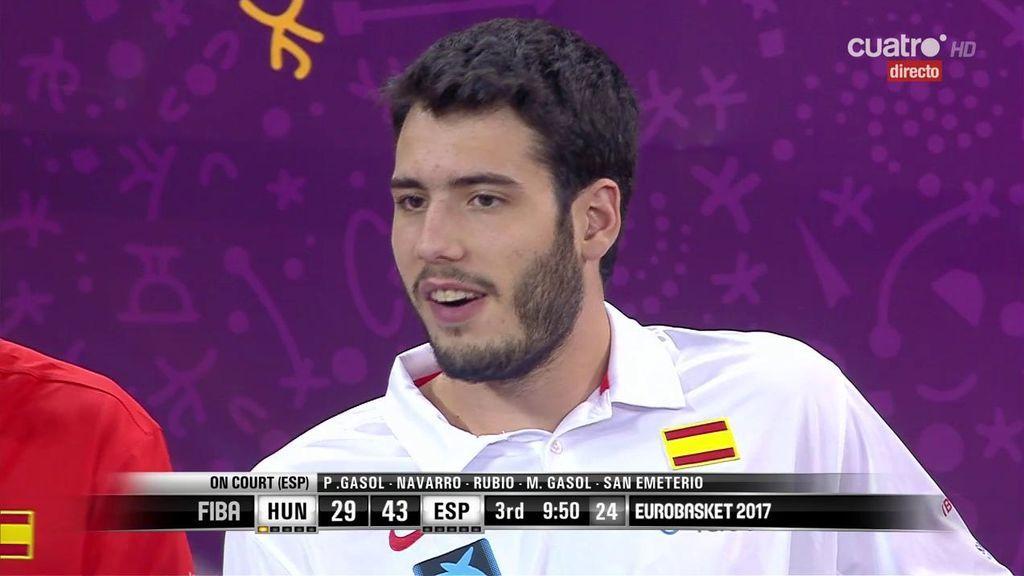 Abrines no jugará más en este Eurobasket por la presión de los Thunder