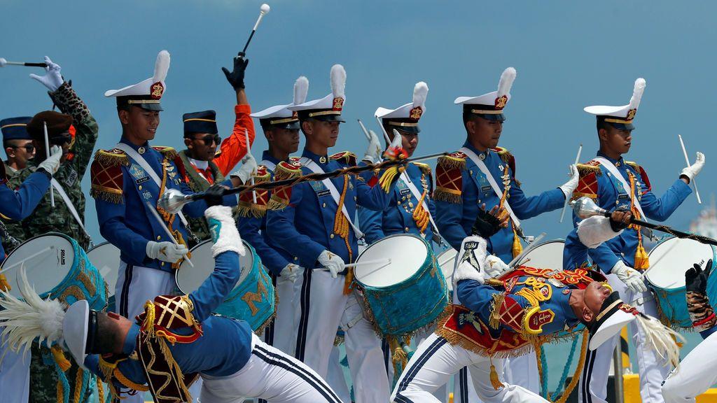 Presentación del presidente de Indonesia