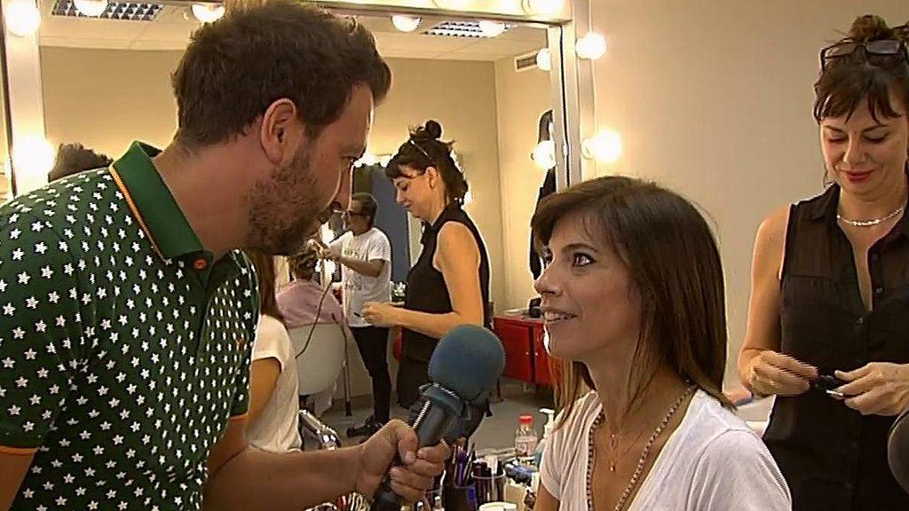 Maribel Verdú, emocionada en su último día de rodaje