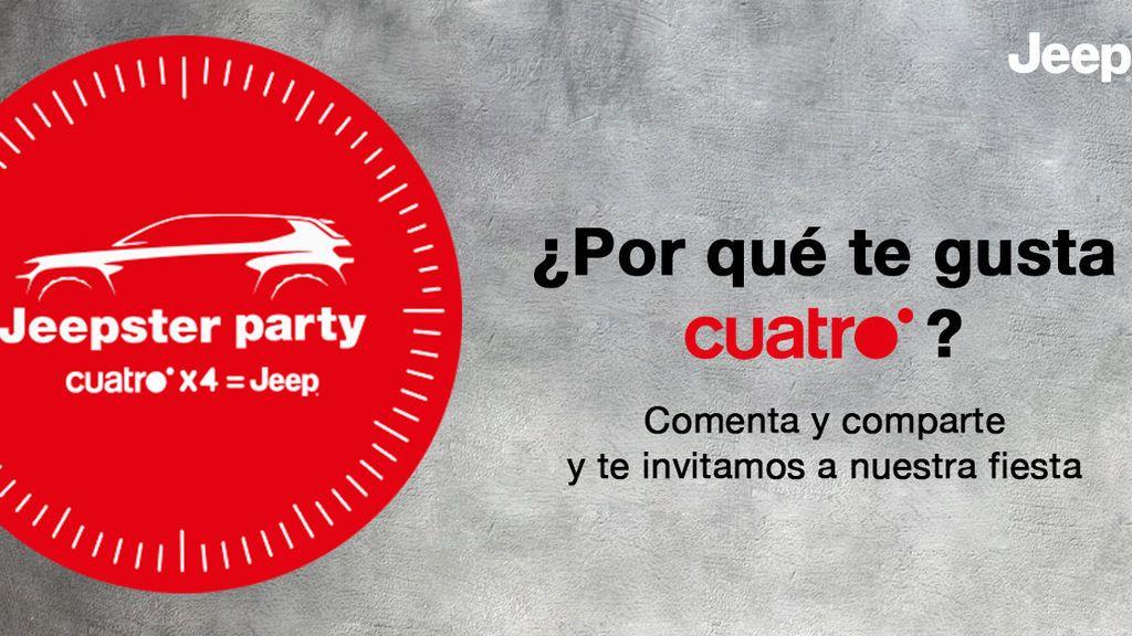 ¡Ven a la fiesta de nueva temporada #Cuatrox4Jeep!