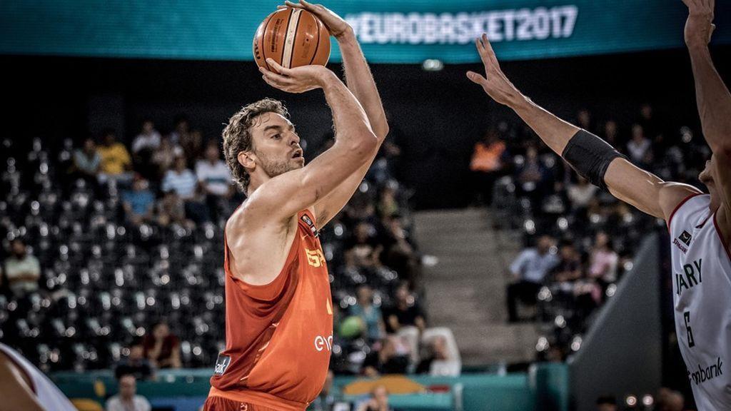 Así quedan los cruces de octavos de final del Eurobasket