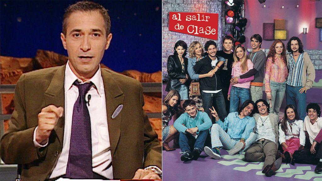 El 8 de septiembre de 1997 fue un día glorioso en Telecinco: nacían 'Al salir de clase' y 'Crónicas marcianas'