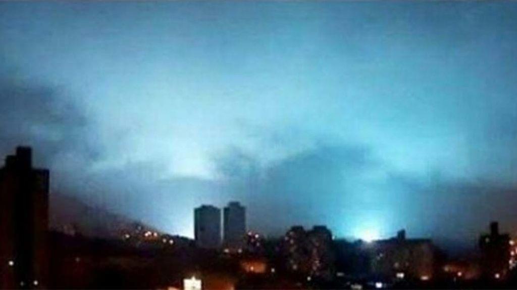 Triboluminiscencia, ¿por qué había luces en el cielo durante el terremoto en México?