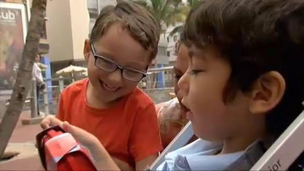 Sonrisas y mucha complicidad en el día en que Íker y Pepe se han conocido en persona