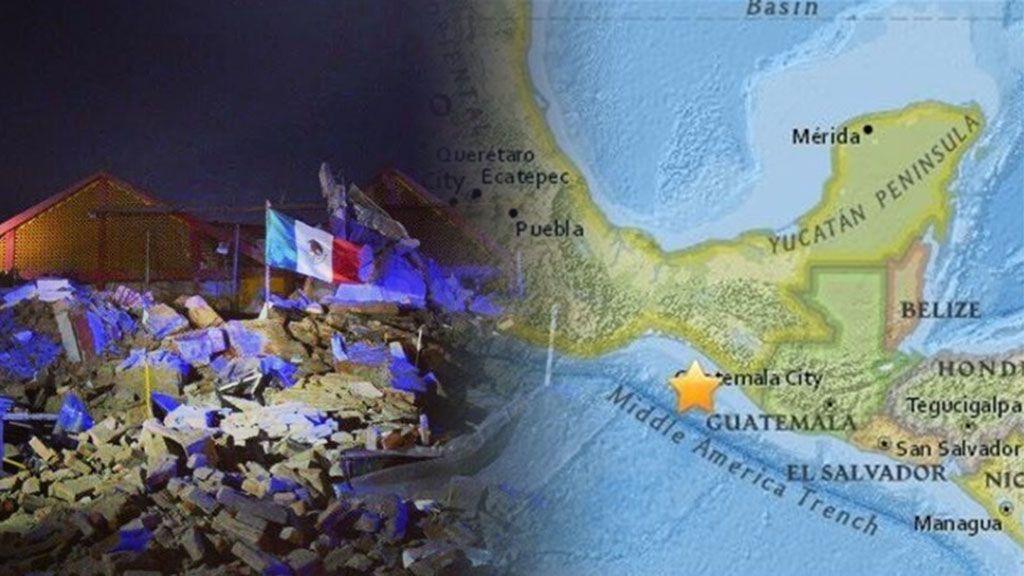 Así se está viviendo en redes el terremoto que ha azotado el sur de México
