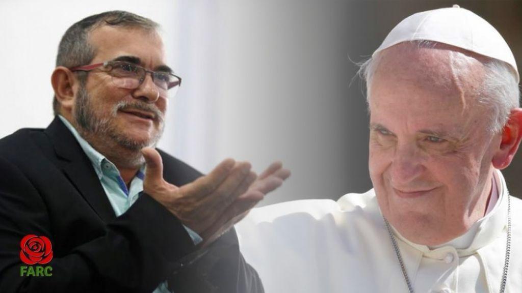 Las FARC piden el perdón del Papa Francisco por las víctimas de su actividad armada