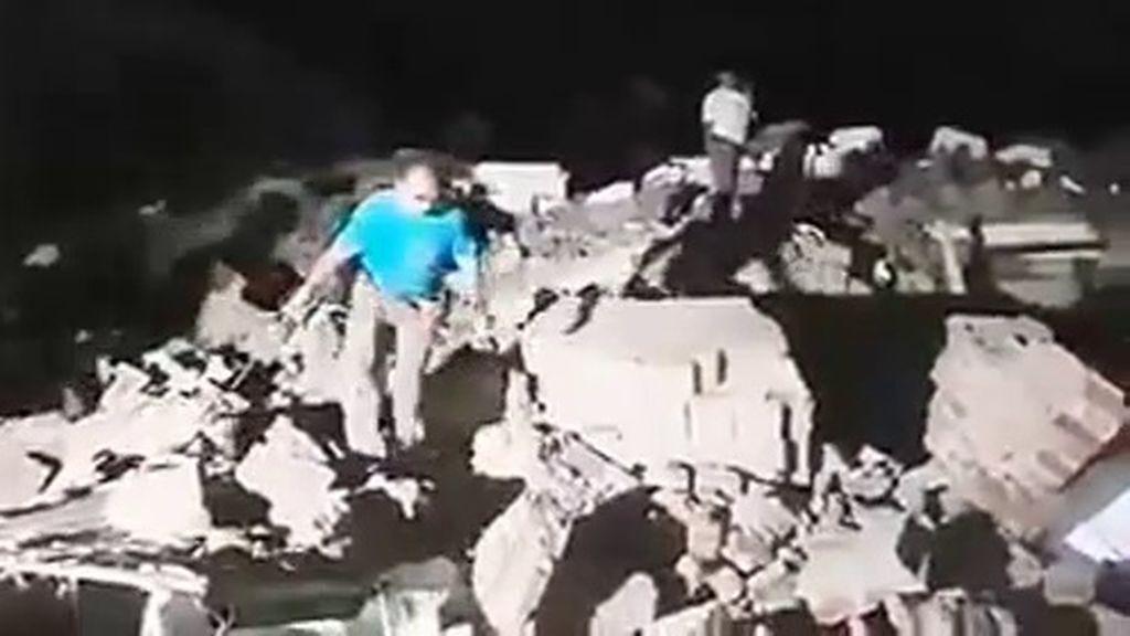 El terremoto más fuerte de sus últimos 100 años sacó de la cama a 50 millones de mexicanos