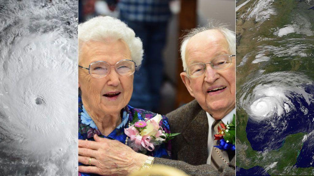 La otra cara: Irma y Harvey, los ancianos enamorados que llevan el nombre de los huracanes