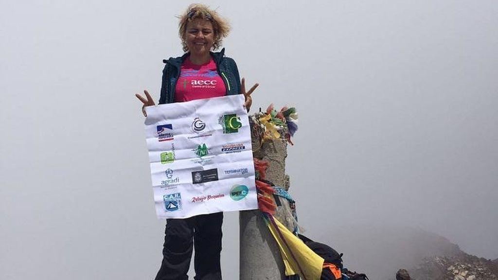 Corona los cinco picos más altos de España con un solo pulmón