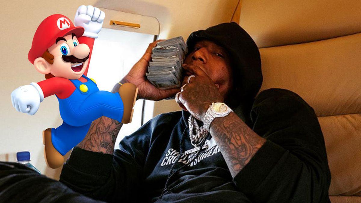 El colgante de Mario Bros de un rapero revoluciona las redes: ¡todos lo quieren!