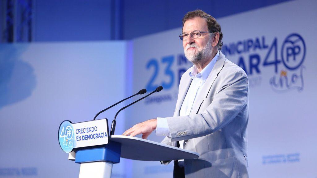 """Rajoy afirma que en Europa """"no dan crédito"""" ante el proceso independentista de Cataluña"""