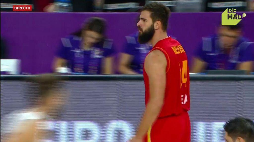 ¡De la escuela balcánica! Dubljevic despierta a Montenegro con dos triples consecutivos