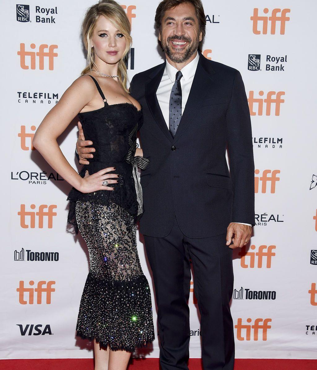Jennifer Lawrence y Javier Bardem