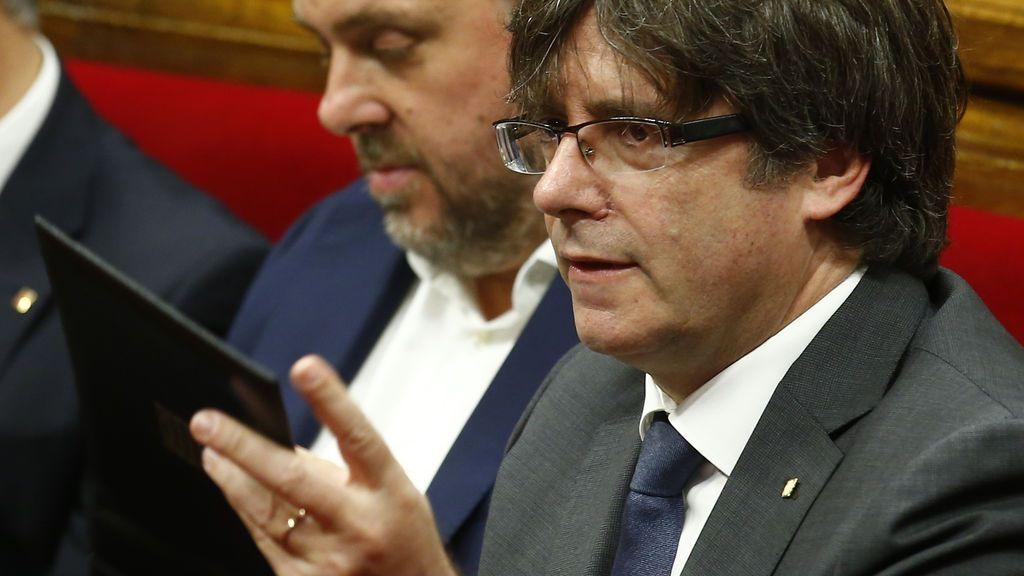 """Carles Puigdemont reitera que está abierto """"hasta el último minuto"""" para negociar el 1-O"""