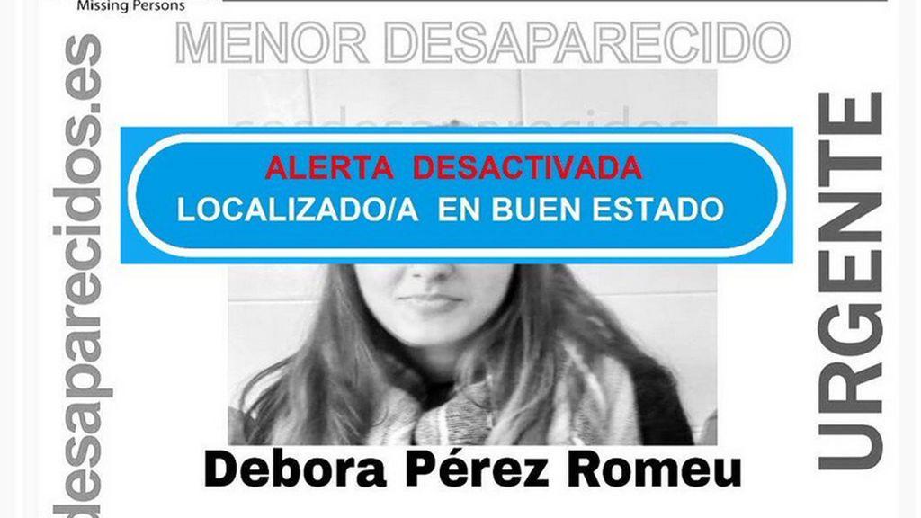 Localizan en buen estado a la menor desaparecida en A Coruña