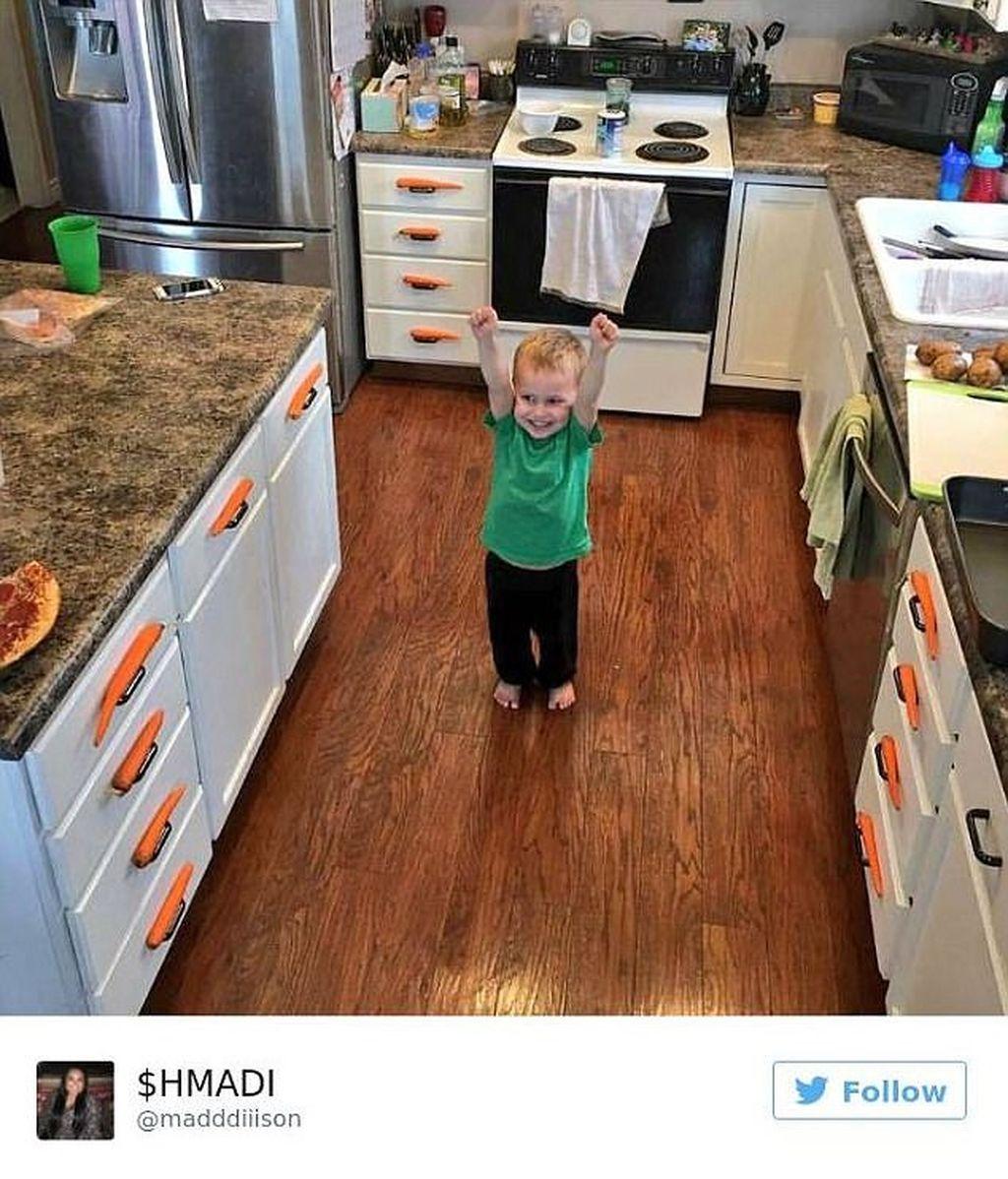 Twitter idea con zanahorias