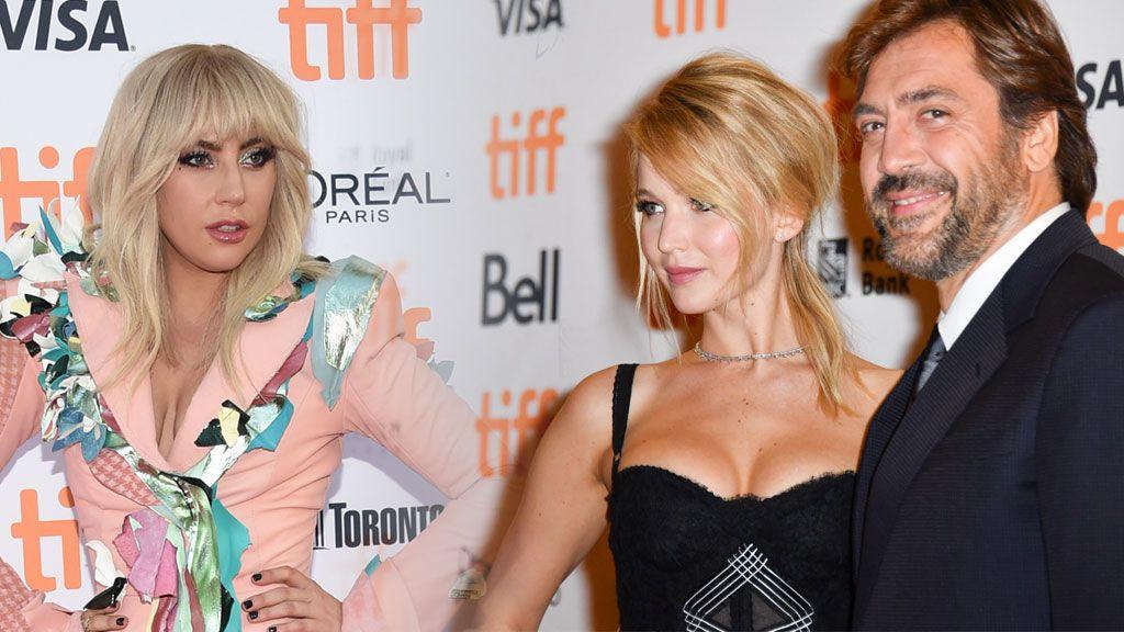 La pareja JLaw-Bardem, la familia Brangelina y Lady Gaga: esto es lo que está pasando en el Festival de Toronto