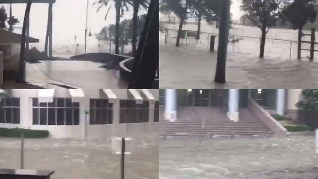 Christian Vieri muestra en un vídeo las consecuencias devastadoras del huracán Irma
