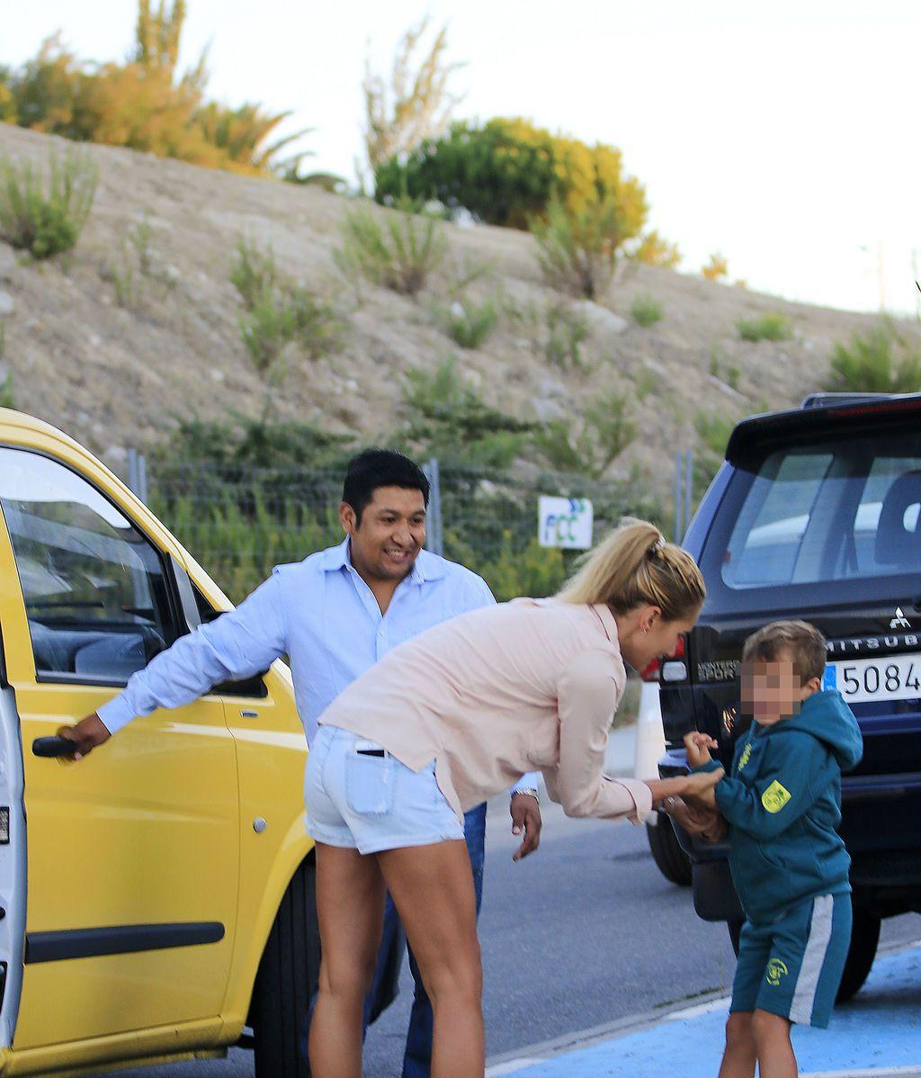 Lucas, el hijo de Alba Carrillo y Fonsi Nieto, se resiste a la vuelta al cole