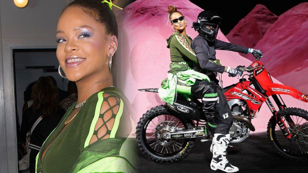 Rihanna propone bodys tanga en su colección de moda y está haciendo muchas más cosas dignas de mención