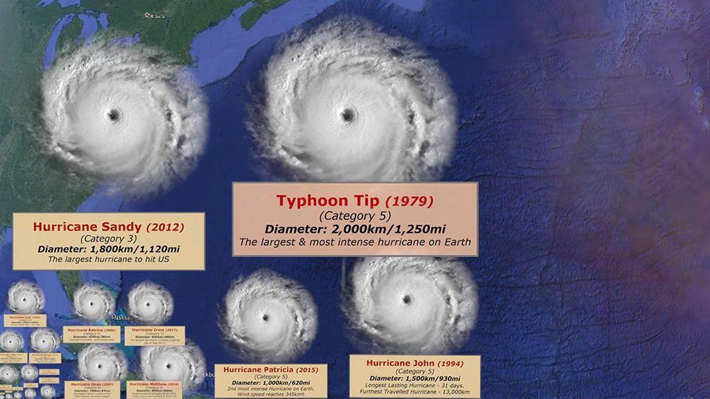 Los cinco huracanes más destructivos de la historia