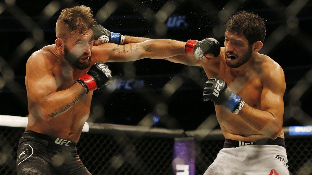 La mujer de este luchador de UFC sube una foto de su pierna tras un combate… duele sólo con verlo