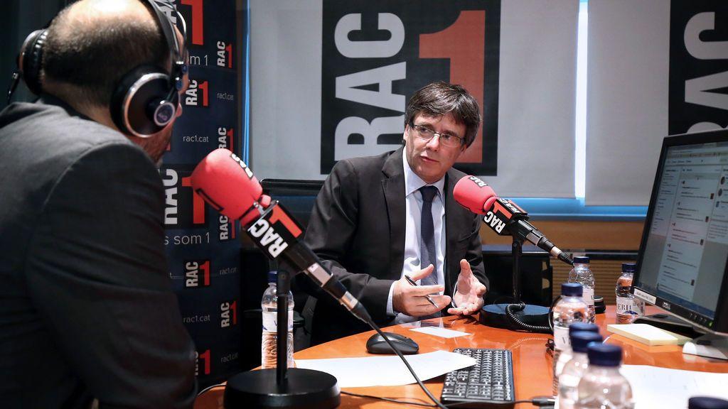 """Puigdemont cree que """"no está muy lejos"""" que los barceloneses puedan votar"""