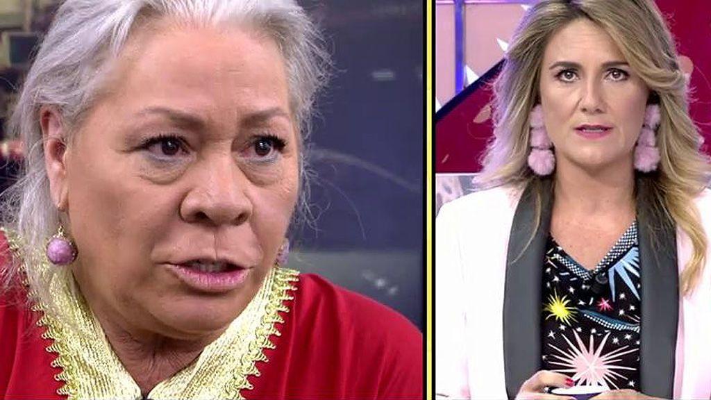 """El 'dardo' de Gahona a Carlota Corredera: """"No eres nadie para llamarme la atención"""""""