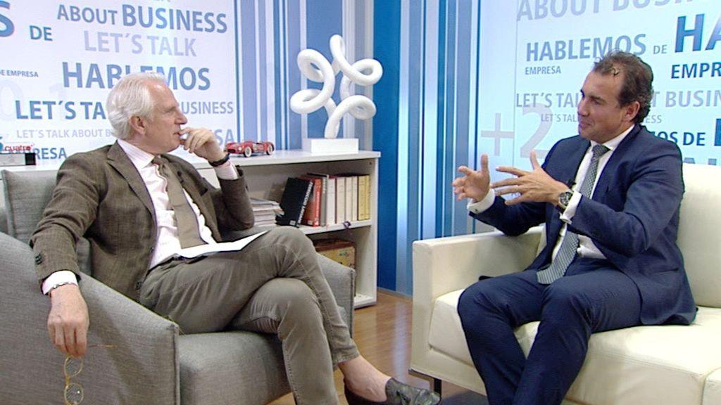 """Diego Parrilla, socio de Quadriga: """"España ahora tiene un atractivo enorme"""""""