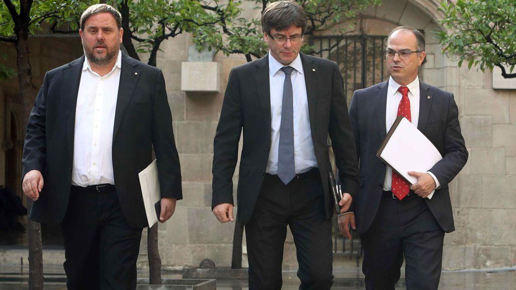 """El Govern insiste en que """"obedecerá al Parlament"""" y no al Tribunal Constitucional"""