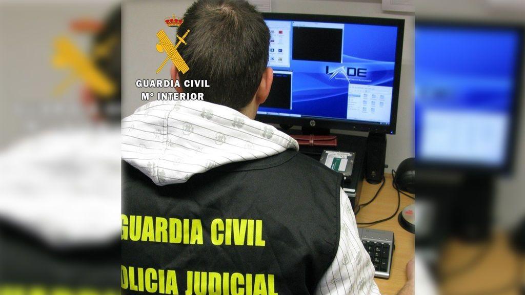 La Guardia Civil destapa un entramado internacional de estafas a través de Internet