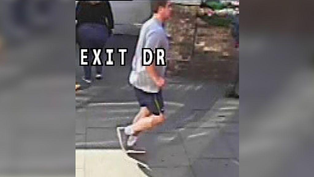 Difunden nuevas imágenes del corredor que empujó y tiró al suelo a una mujer en Londres