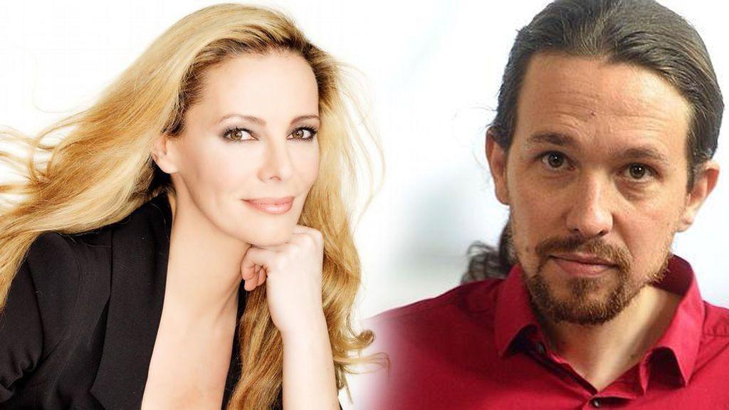 """Paula Vázquez desmiente una relación con Pablo Iglesias: """"#cotilleos #fake... ¡Vaya día me habéis dado!"""""""