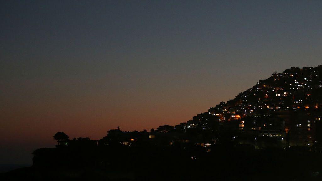 Panorámica de la barriada de Vidigal en Río de Janeiro