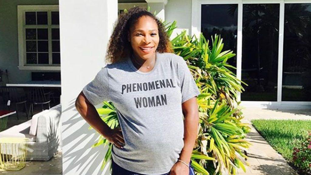 Serena Williams presenta a su primera hija, Alexis Olympia