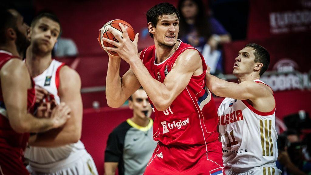 Rusia y Serbia se disputan el segundo billete para la final este viernes a las 20.30 en Cuatro