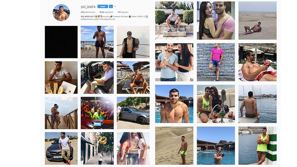 Pol no borra las fotos de Adara de su Instagram