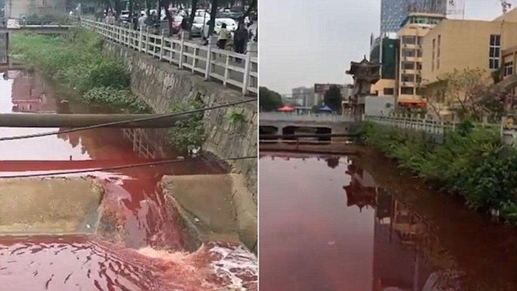 Río de sangre (literal): ¿qué le ha pasado a este afluente chino?