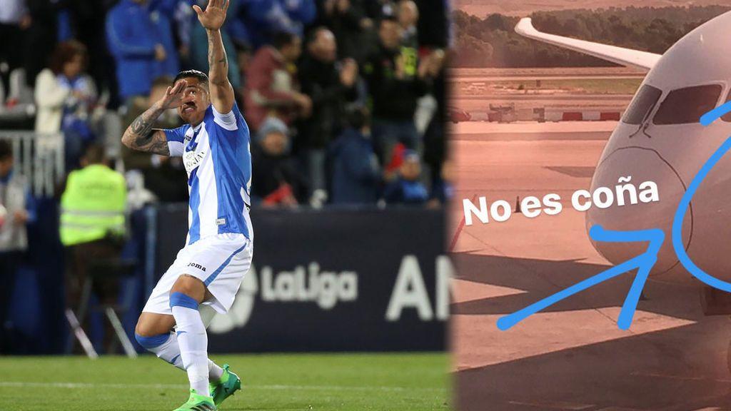 """""""¡No es coña!"""" El Leganés 'trollea' de forma épica al Eibar por llegar en un avión que se llama 'Julio Iglesias'"""