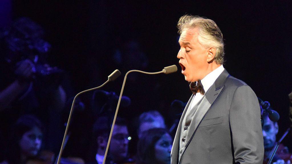 Andrea Bocelli se recupera tras ser hospitalizado de urgencia