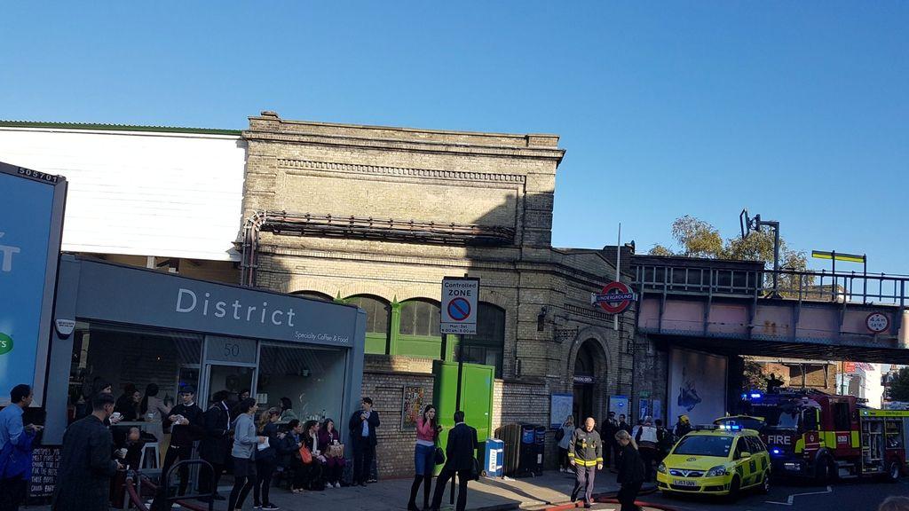 El suceso se ha producido en la estación de Parsons Green