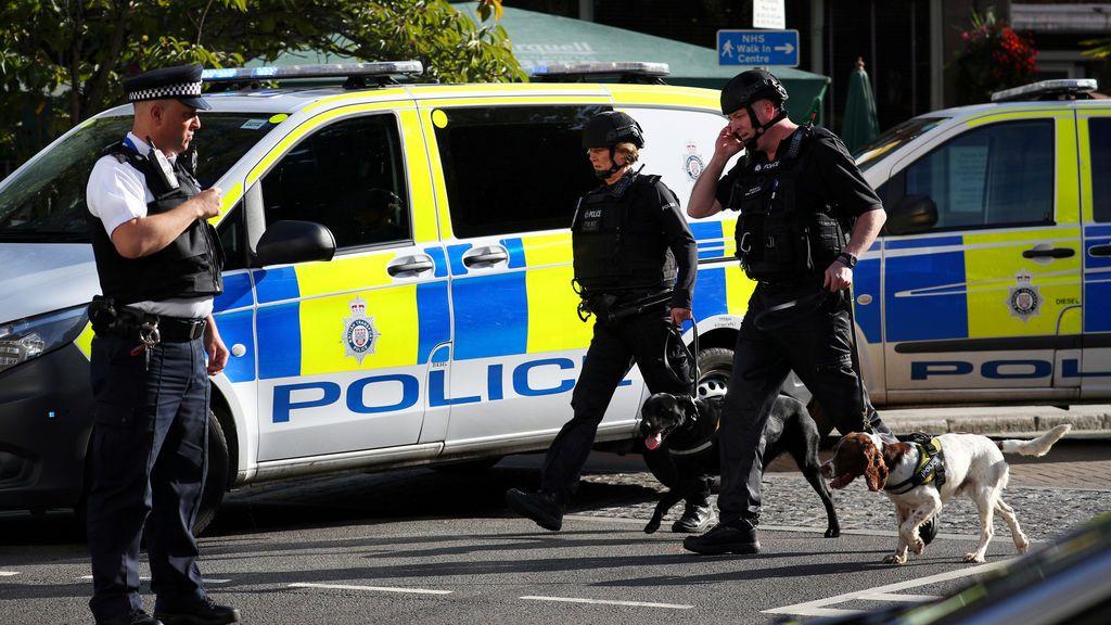 Atentado terrorista en el metro de Londres