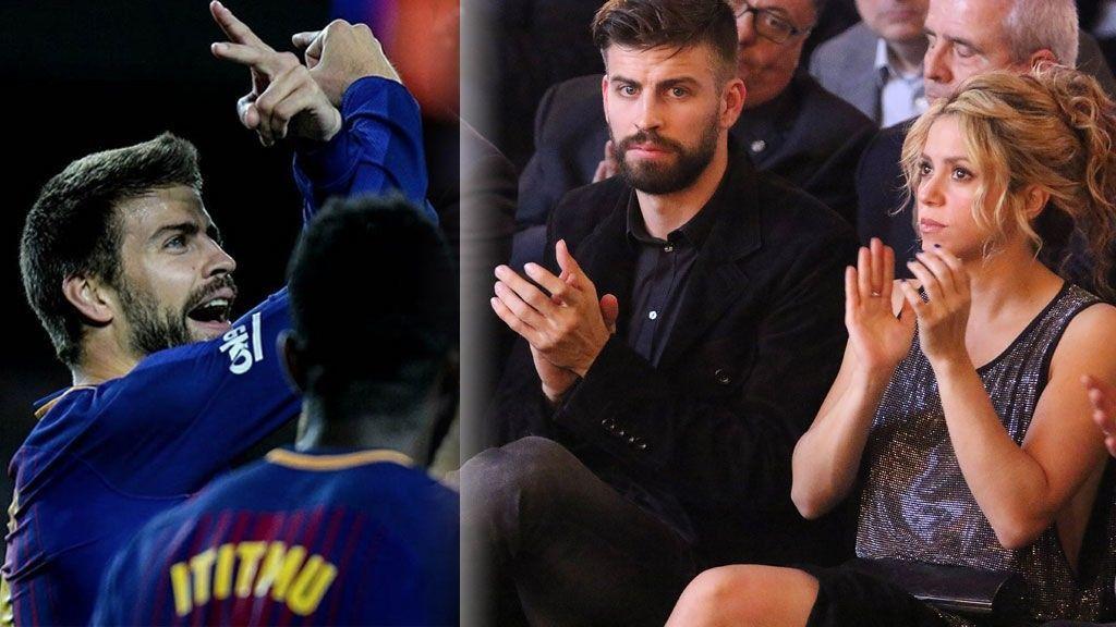 ¿Shakira y Piqué han roto? ¿A quién va dirigida esa peineta del jugador?