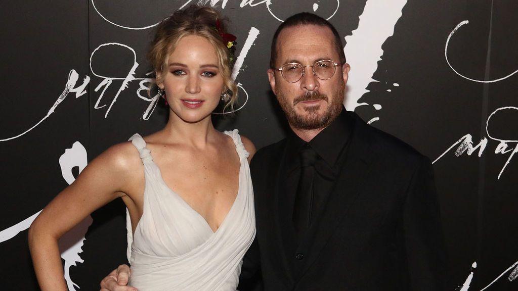 ¡Primera foto oficial de Jennifer Lawrence y su novio, Darren Aronofsky!