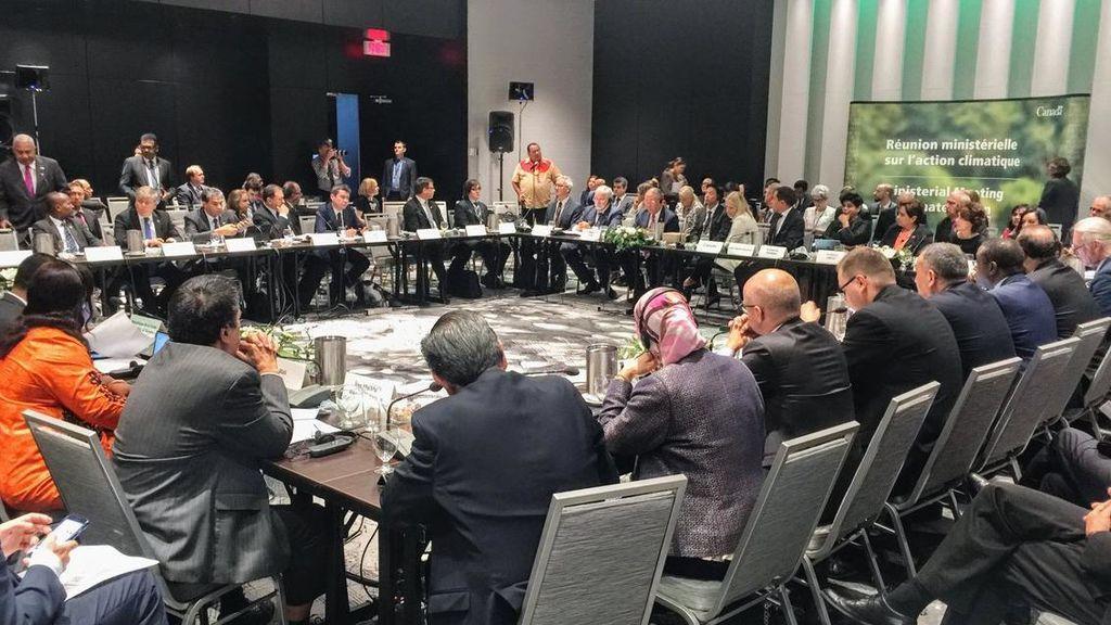 Más de 30 países del Acuerdo de París contra el cambio climático se reúnen en Montreal