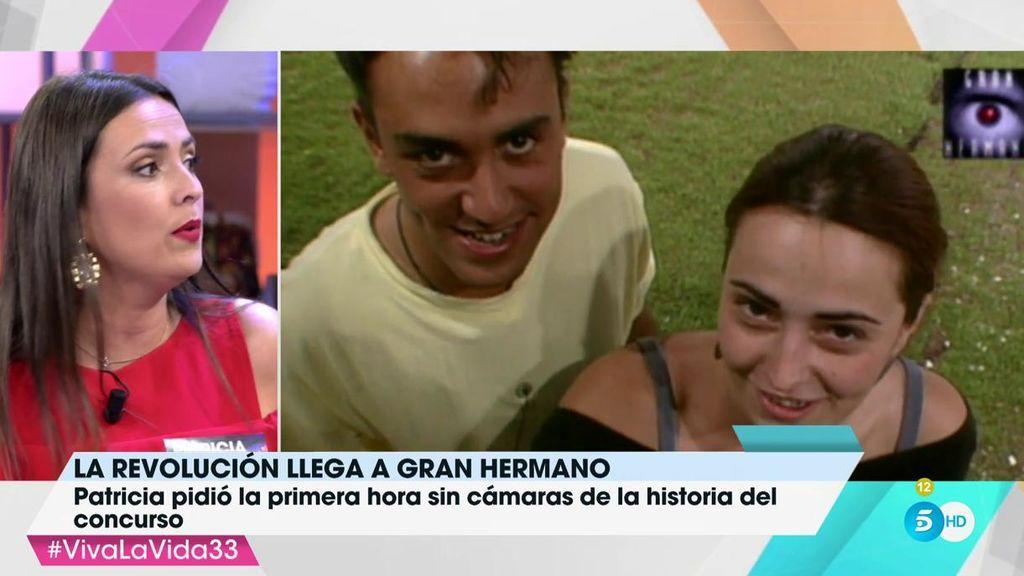 Patricia Ledesma recuerda su historia con Kiko Hernández y nos cuenta por qué se enamoró de él