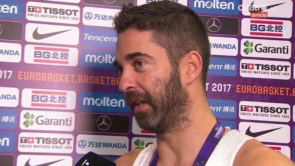 """Juan Carlos Navarro, tras su retirada: """"Era como un ritual estar aquí con todos"""""""