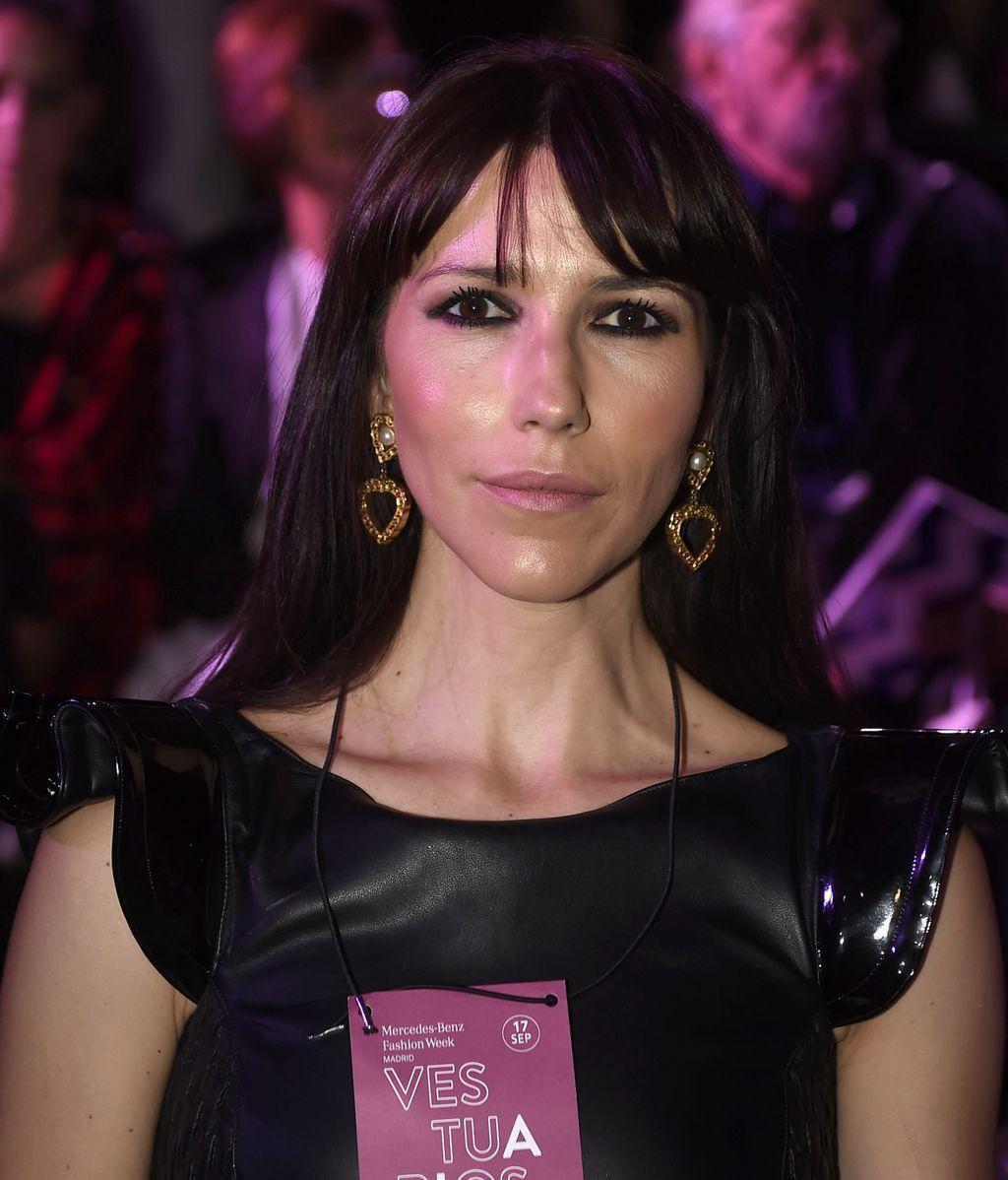 Laura Matamoros, Hiba Abouk y Alba Lago: vips en el desfile de María Escoté