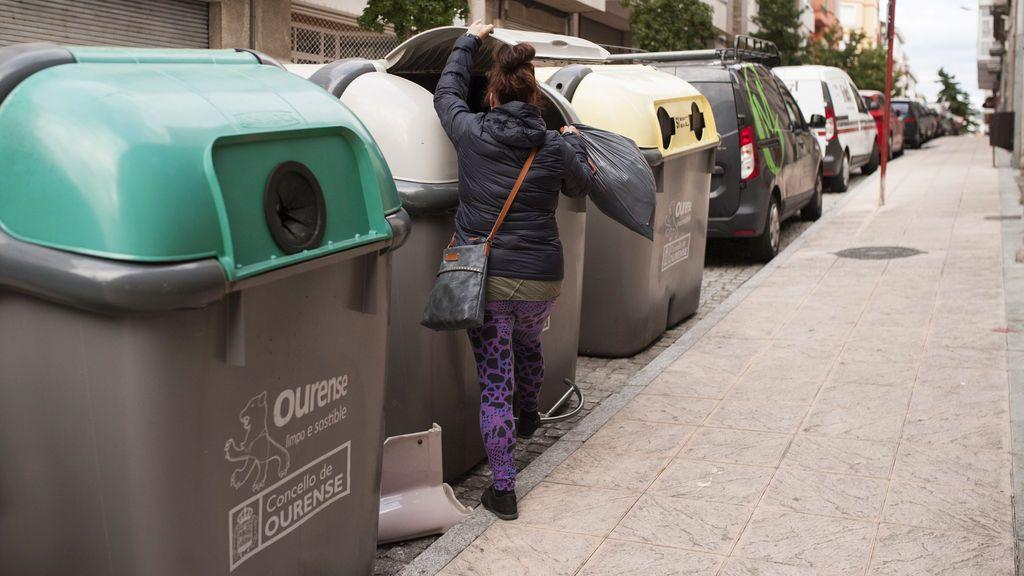 Un indigente encuentra un bebé en un contenedor de basura de Ourense
